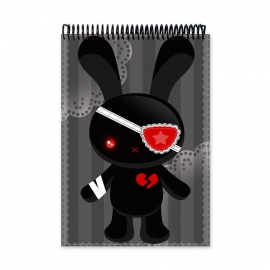 Evil bunny (Notebook)