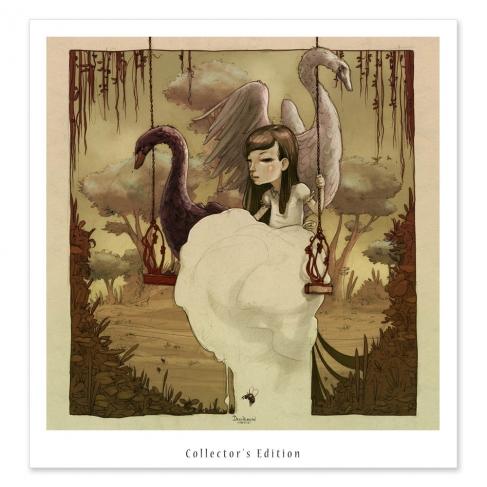 Swing & Swans - Colour