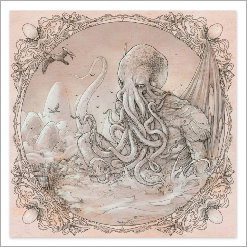 Cthulhu - Drawing